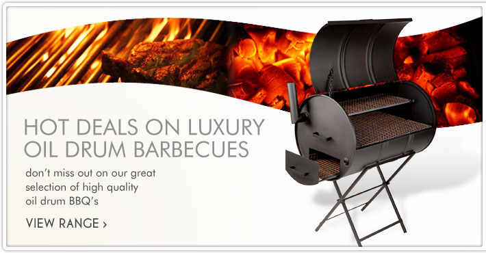 Hot Deals on Luxury Oil Drum Barbecues