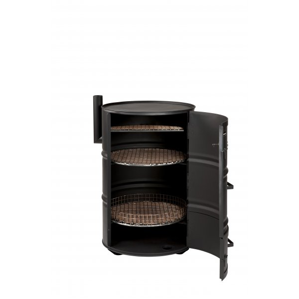 drumbecue charcoal barbecue oil drum bbq. Black Bedroom Furniture Sets. Home Design Ideas