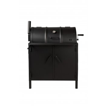Drumbecue Deluxe Charcoal BBQ Drum Smoker