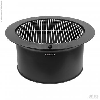 Drumbecue Fire Pit Charcoal BBQ Grill